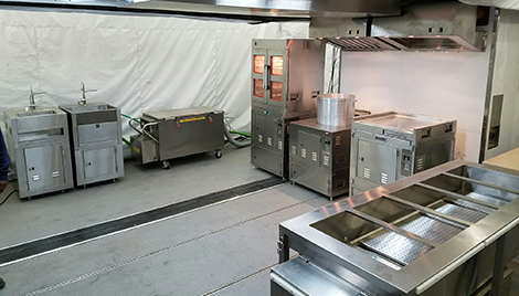 Delicieux Interior Photo Of The Containerized Kitchen Enhanced (CK E).