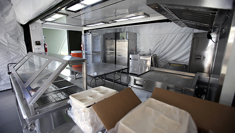 Delicieux Interior Photo Of The Of The Containerized Kitchen Enhanced (CK E).